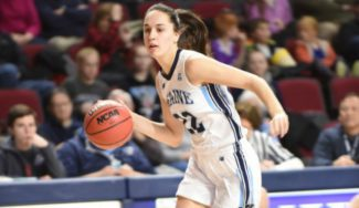Imparable: Blanca Millán bate su récord anotador en la NCAA con Maine (Vídeo)