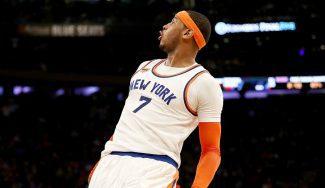 Carmelo silencia los pitos del Madison dando el triunfo a los Knicks ante Charlotte (Vídeo)