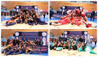¡Un año más, bestial! Cataluña se lleva dos oros, y Andalucía y Madrid uno, en los Campeonatos de España