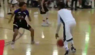 Apunta alto: así juega el hijo de LeBron James con sólo 12 años. ¡Vaya crack! (Vídeo)