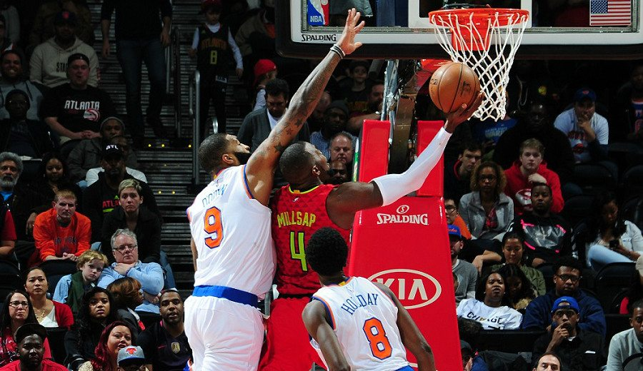 ¡Qué partido! La emoción de las 4 prórrogas del Knicks-Hawks, en dos minutos (Vídeo)