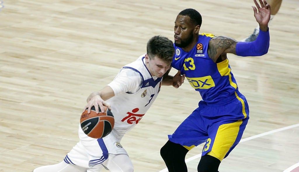 Doncic se viste de MVP y roza el triple-doble para ganar al Maccabi: mira qué mate (Vídeo)
