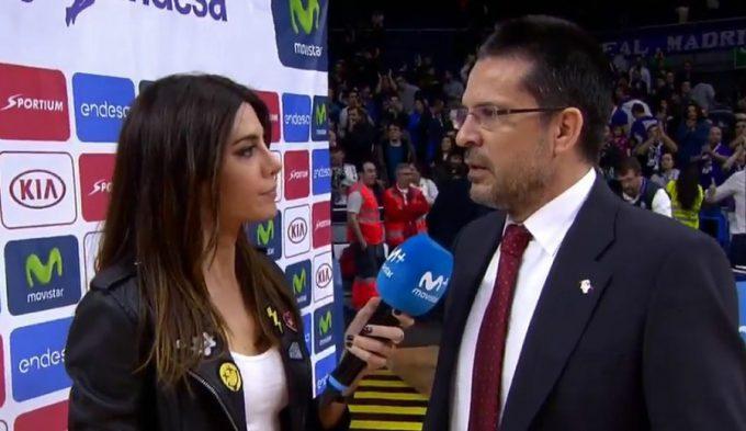"""Pedro Martínez destaca """"la enorme presión"""" a los árbitros del Madrid y Laso evita replicar"""