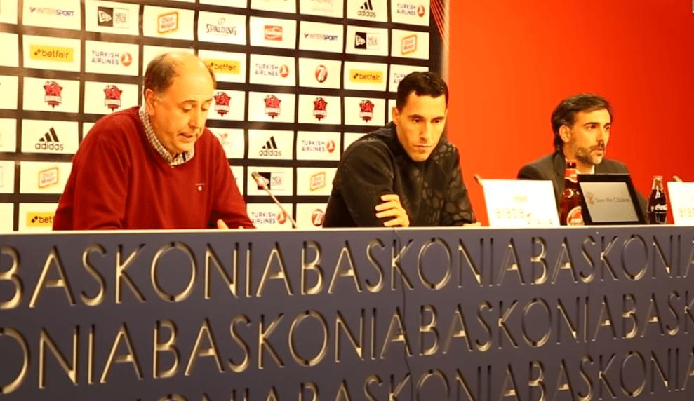 Prigioni se despide del Baskonia: «No estoy disfrutando de lo que estoy haciendo» (Vídeo)