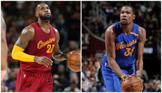 ¿Hay rivalidad entre Cavaliers y Warriors? LeBron y Durant no se ponen de acuerdo