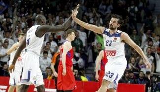 El Madrid gana al CSKA y acecha el liderato: Llull enchufa dos triples increíbles (Vídeos)