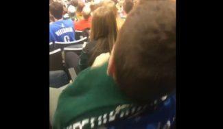 Antetokounmpo la lía: tras su show, un niño se pone su camiseta encima de la de Westbrook (Vídeo)