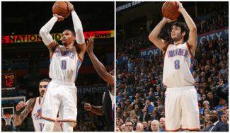 Triple-doble de Westbrook y canasta 'top' de Abrines en la victoria de los Thunder (Vídeos)