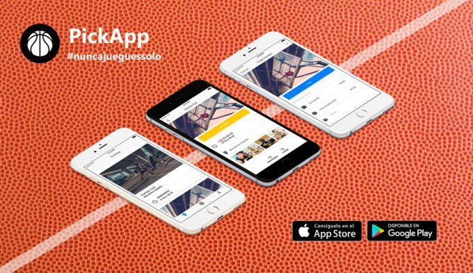 La app para los amantes del baloncesto desc rgate pickapp for Oficinas de endesa en barcelona ciudad
