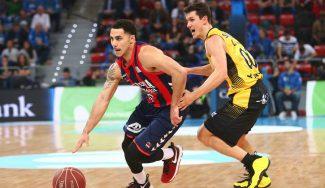 """Larkin destaca la clave para batir al Canarias: """"Defensivamente hemos estado bien"""""""