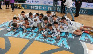 ¡Histórico! El Real Madrid gana su quinta Minicopa consecutiva tras vencer al Unicaja (Vídeo)