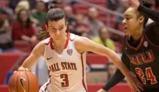 ¡Otro récord para Carmen Grande! Tope anotador en una nueva victoria de Ball State