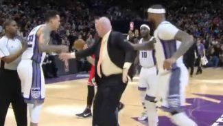 Canasta ganadora de Wade para tumbar a los Kings: empujón de Cousins a un técnico (Vídeo)