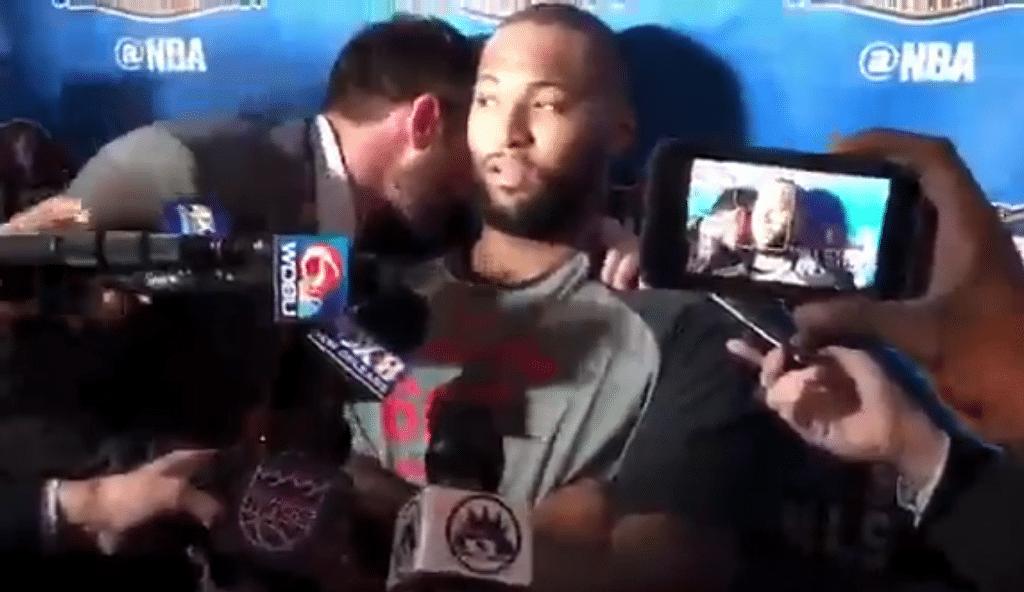 """""""Me encanta Nueva Orleans"""". La reacción de Cousins cuando le soplan su traspaso (Vídeo)"""