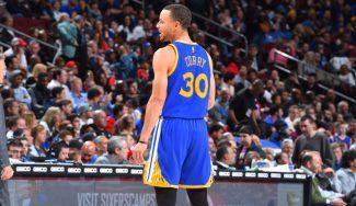 """""""Olvidé ajustar la densidad del aire"""". Curry se ríe de su peor noche, récord incluido (Vídeo)"""