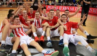 El Estrella Roja se clasifica para Estambul: gana el Adidas Next Generation en casa