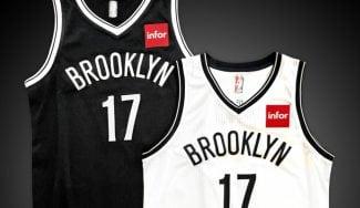 Ya van cuatro equipos: los Nets presentan el logo de publicidad que lucirán sus camisetas