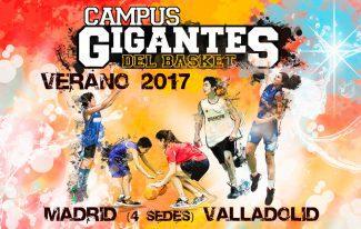 V edición del Campus Gigantes del Basket Verano 2017. ¡Abierto el plazo de inscripción!