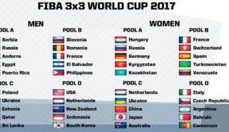Nantes espera: ya se conoce el calendario y los grupos del Mundial 3×3 de Francia de junio