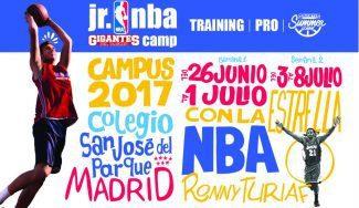 Una experiencia única: la NBA llega en verano a Madrid con el Jr. Gigantes Camp. ¡Apúntate!