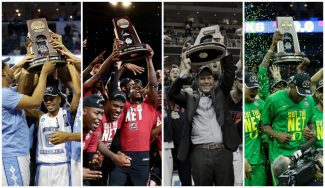 Invitados inéditos y un histórico con intriga en la Final Four del March Madness (Vídeos)