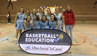 Copa Colegial en Valladolid: las campeonas Agustinas marcan el territorio
