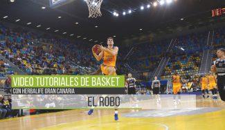 El alero del Herbalife Gran Canaria Rabaseda nos enseña a mejorar el robo de balón (Vídeo)