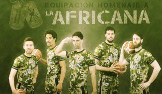 Con mangas y de camuflaje: la equipación del Melilla en homenaje a la Carrera Africana