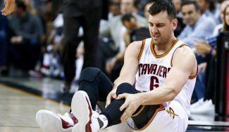 """""""Escuché el crack"""". LeBron, sobre la lesión de Bogut en su debut con los Cavaliers (Vídeo)"""