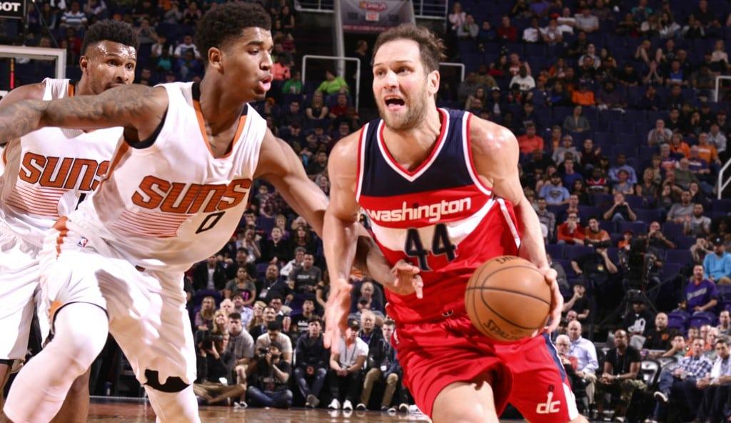 Bogdanovic anota 29 puntos y lidera el triunfo de Wizards «en un partido extraño» (Vídeo)