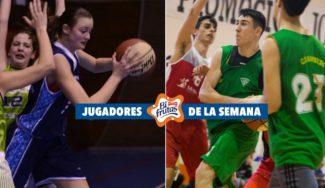 Nombres de futuro: Elena Alaix y Gabriel Gil, MVP de la semana en la Copa Colegial
