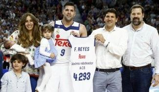 """Felipe Reyes, máximo reboteador histórico ACB: """"Se me pone la piel de gallina"""" (Vídeos)"""