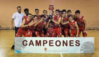 Doblete: tras el Cadete Masculino, el Colegio Leonés gana en Castilla y León en infantil