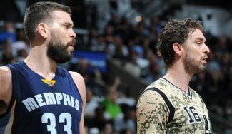 Los Spurs se vengan de los Grizzlies pese al doble-doble de Marc: matazo de Pau (Vídeo)