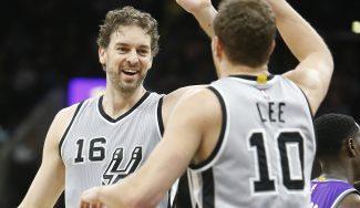 Máxima efectividad: Pau roza el doble-doble en 20 minutos y lidera a los Spurs (Vídeo)