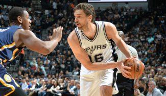 Los Spurs vencen a los Pacers con 18 puntos de Pau: canasta ganadora de Leonard (Vídeo)