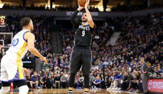 Ricky brilla ante los Warriors: 13 asistencias y defensa vital en el fallo final de Curry (Vídeo)