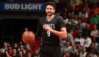 Sigue el marzo magnífico de Ricky: 20 puntos en la derrota de los Wolves en Miami (Vídeo)