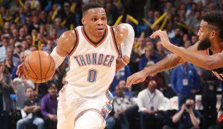 Récord anotador sin premio: Westbrook mete 58 puntos y pierde contra los Blazers (Vídeo)