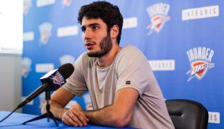 """Abrines, tras su primer año NBA: """"Quiero ser un jugador completo, no sólo un tirador"""""""