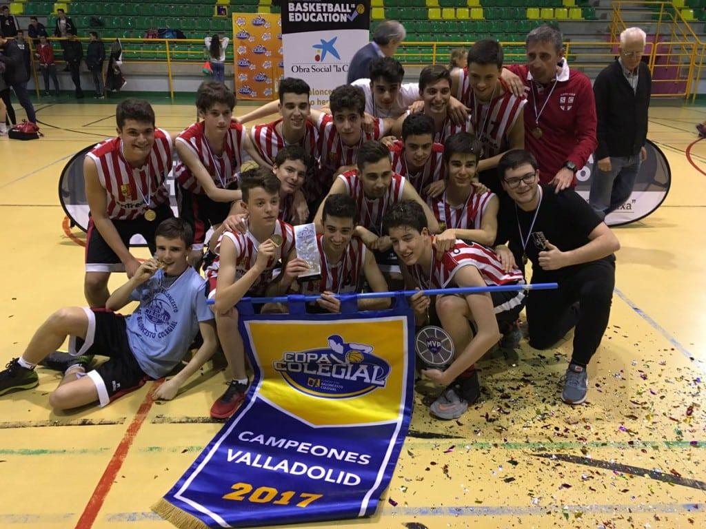 Éxito rotundo: Agustinas y San José se llevan la Copa Colegial de Valladolid