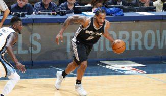 Los Spurs eliminan a los Grizzlies y Popovich se rinde a Kawhi: «El mejor de la Liga» (Vídeo)