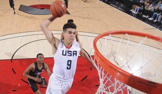 Las futuras estrellas de la NBA se exhiben ante los mejores talentos de Europa (Vídeo)