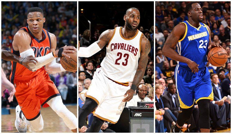 La noche del triple-doble: Westbrook roza el récord, y LeBron y Green se lucen (Vídeos)