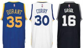 La camiseta de Pau Gasol, cuarta NBA más vendida en España: dominan Durant y Curry