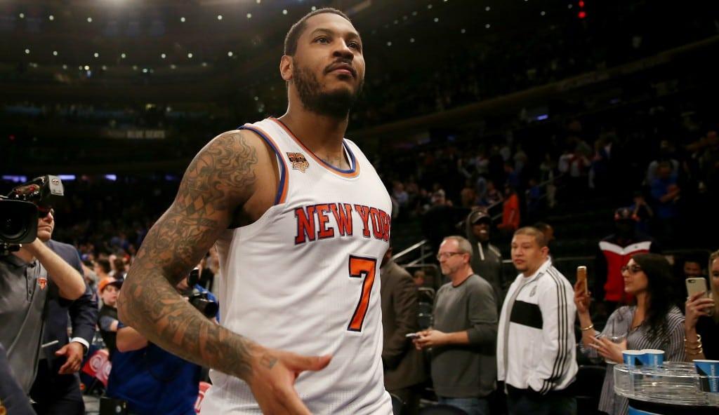 ¿Adiós a los Knicks? Carmelo: «Tengo mucho que pensar y reflexionar, todo depende de mi»