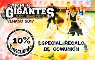 ¡Pide el Campus Gigantes como regalo de comunión! 10% de descuento hasta el 28 de mayo