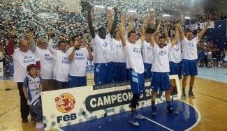 El Gipuzkoa sella el ascenso deportivo a la ACB: así lo celebra en el vestuario (Vídeo)