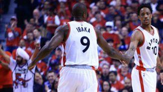 Los Raptors vencen a los Bucks con un brutal Ibaka: doble póster a Antetokounmpo (Vídeo)