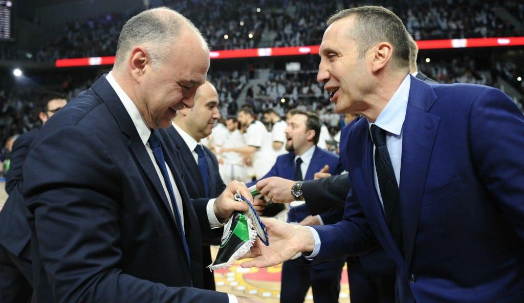 """Laso, sobre el Darussafaka: """"Tienen muchos jugadores polivalentes, será muy complicado"""""""